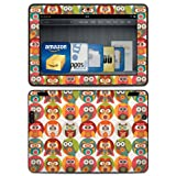 "Kindle Fire HDX 8.9"" Decal/Skin Kit, Owl Family"