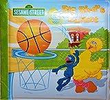 Sesame Street Bath Time Books, Ernie's Touchdown, Zoe's Goal, Big Bird's Basket ,Set of 3 by sesame street