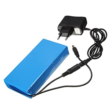 chargeur batterie lithium ion 12v