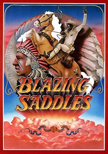 Blazing Saddles (1974) Movie Poster 24x36