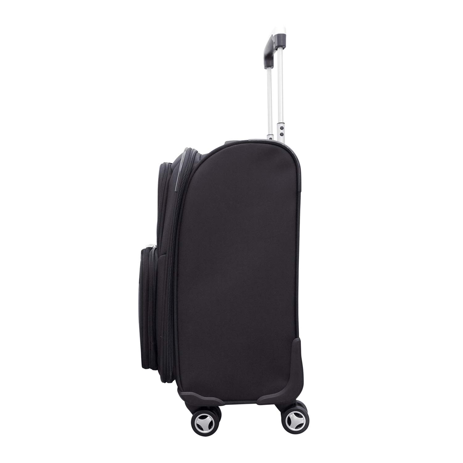 Denco NBA Charlotte Hornets Carry-On Luggage Spinner by Denco (Image #2)