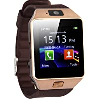 ADJ DZ09 Classic Smart Watch for Android Phones HTC, Samsung and LG - Brown