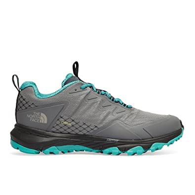 The North Face Damen W Ultra FP Iii GTX Fitnessschuhe, Grau (Zinc Grey/Porcelain Green 4Hu), 37.5 EU