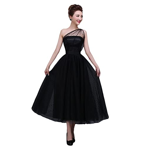 Tulle Tea Length Dress: Amazon.com