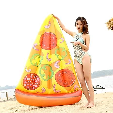 Piscina Natación Anillo Flotador De La Piscina - Personalidad Creativa Pizza Flotadores Gigantes Flotador Inflable Anillo