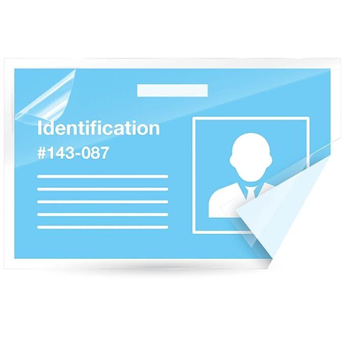 Fellowes laminating sheets self adhesive business card size 5 mil fellowes laminating sheets self adhesive business card size 5 mil 5 pack 5220101 reheart Choice Image