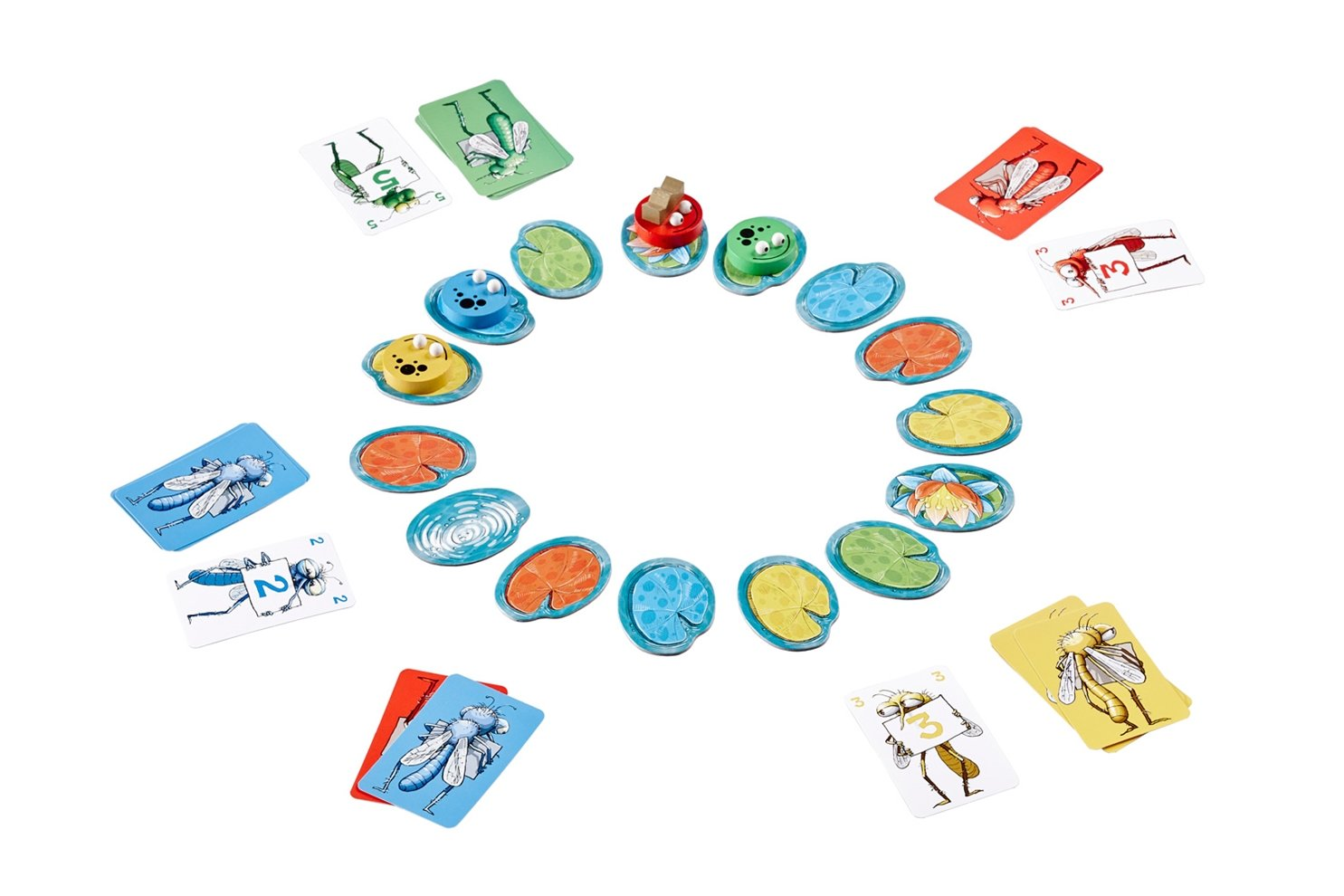 BRAIN GAMES King Frog Kids Board Game