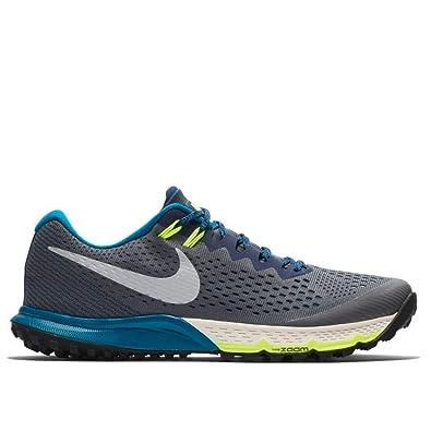 689b92a8 Amazon.com | Nike Mens Tierra Kiger 4 Running Shoes DK Grey/Blue ...