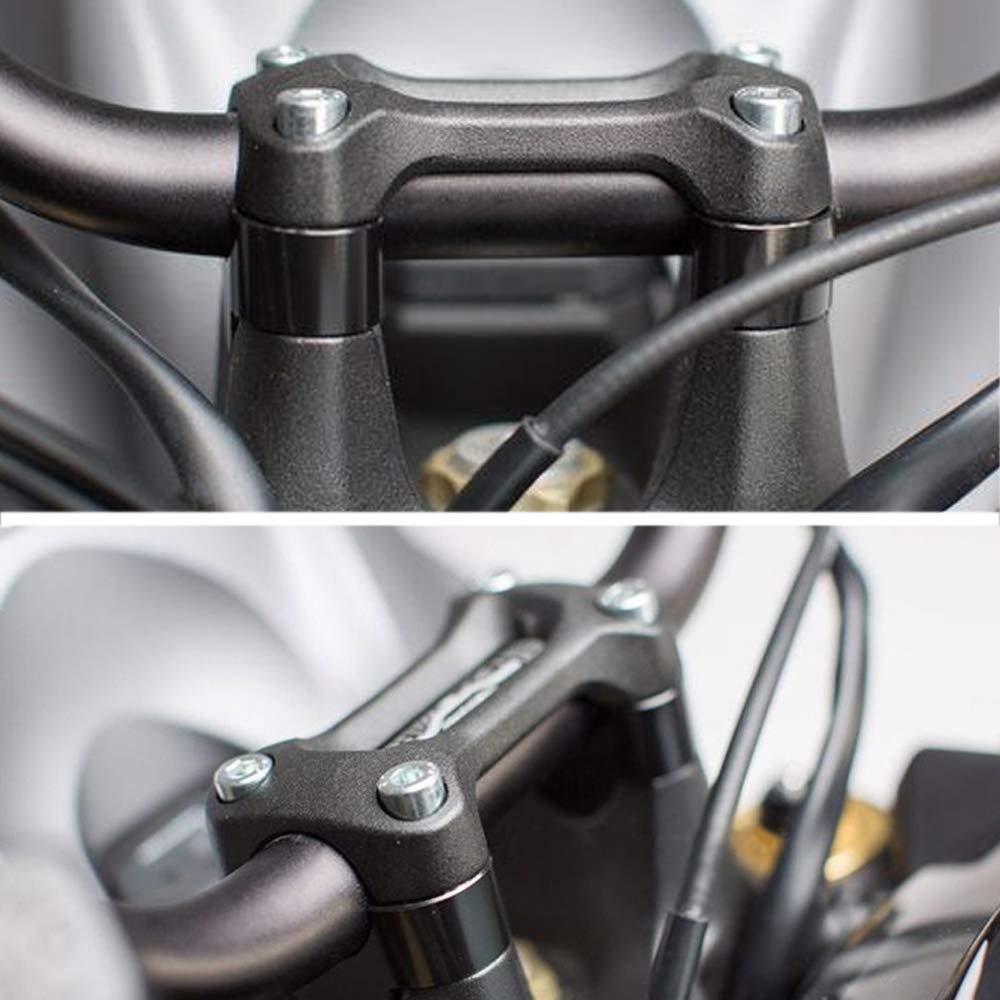 20mm 25//32 Fit For Honda Grom MSX125 // CRF250L Xitomer 7//8 Motorcycle ATV Dirt Bike HandleBar Risers Without Clamps ,black Yamaha FZ16 TT-R230 Kawasaki Z125 Suzuki DRZ400 // V-Strom