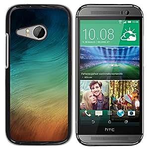 // PHONE CASE GIFT // Duro Estuche protector PC Cáscara Plástico Carcasa Funda Hard Protective Case for HTC ONE MINI 2 / M8 MINI / PASTEL SWIRLS /