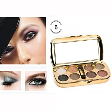 LiPing 8 Color Shiny Diamond Eye Shadow Dust Powder Flash Party Cosmetic/Magic Finish to