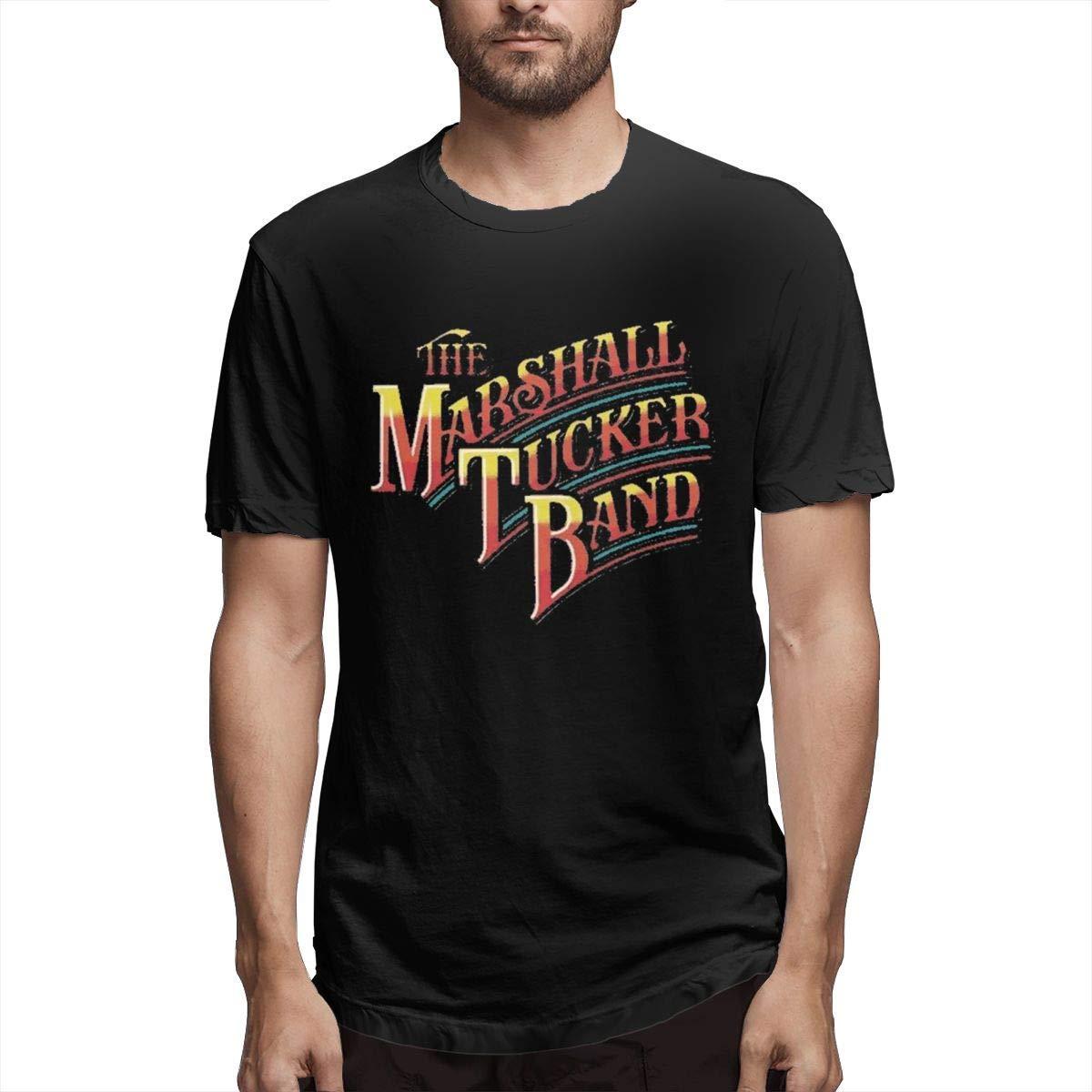 Scrub Green The Marshall Tucker Band Rainbow Logo S Tees Printed Shirts Short Sleeve Tshir