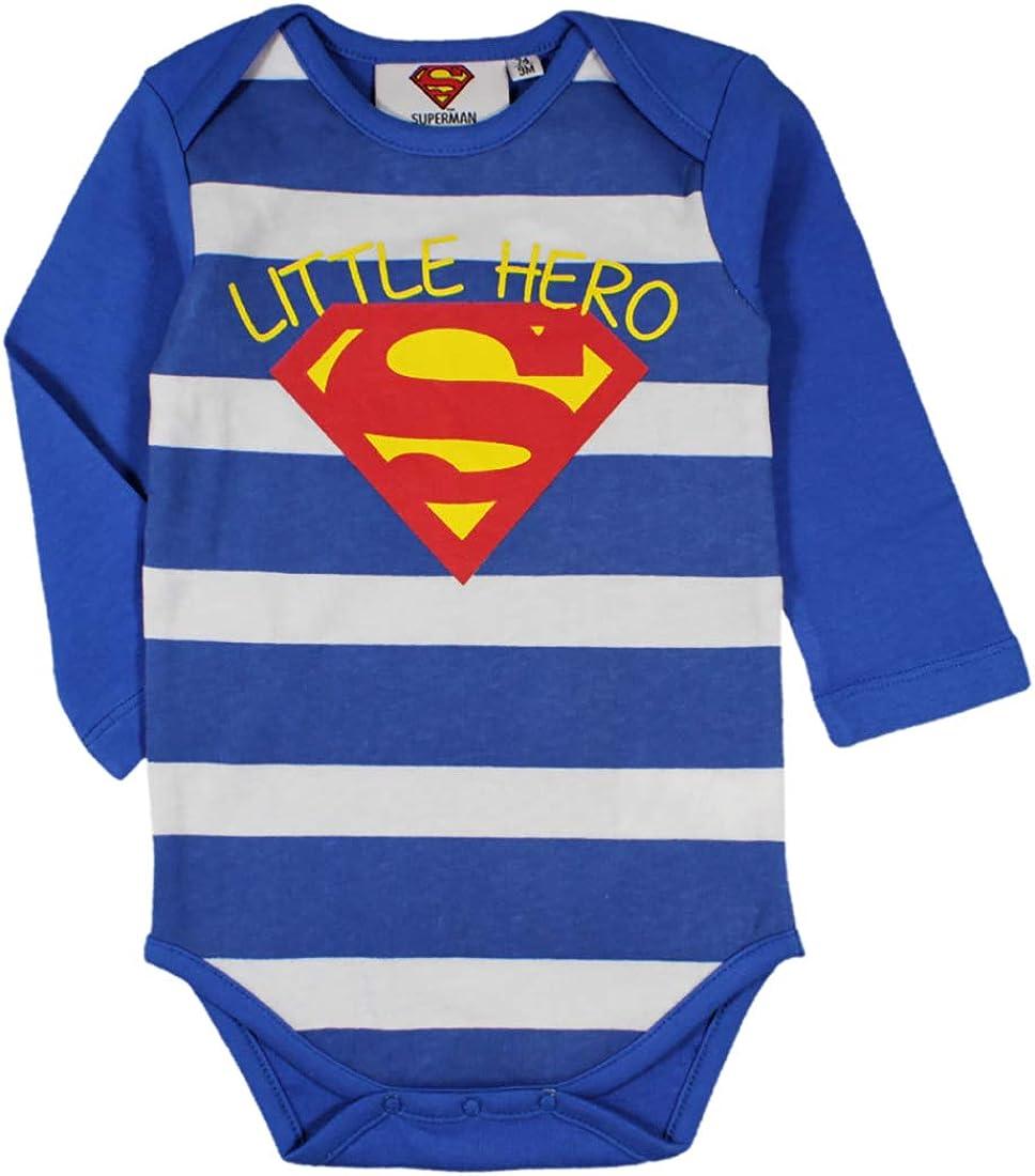 Superman Coton Un-Pi/èce Body pour Gar/çons
