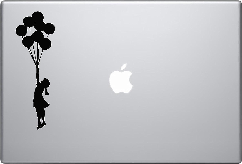 Banksy Girl with Balloon Vinyl Car Sticker Symbol Silhouette Keypad Track Pad Decal Laptop Skin Ipad MacBook Window Truck Motorcycle