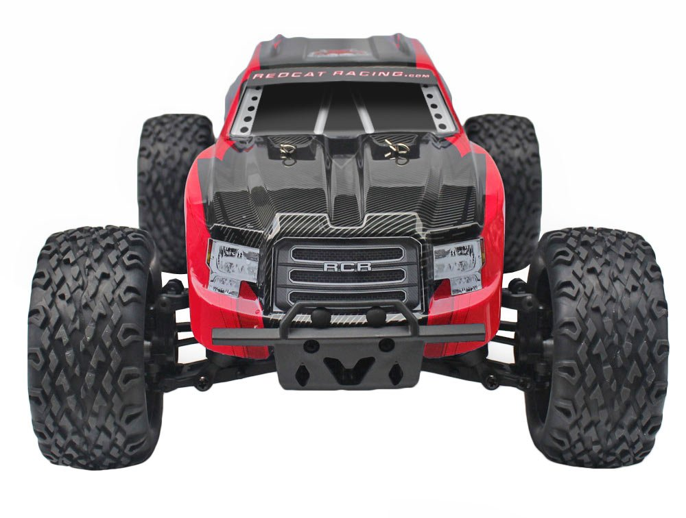 Redcat Racing Blackout XTE 1/10 Scale Electric Monster Truck with Waterproof Electronics, Red by Redcat Racing (Image #4)