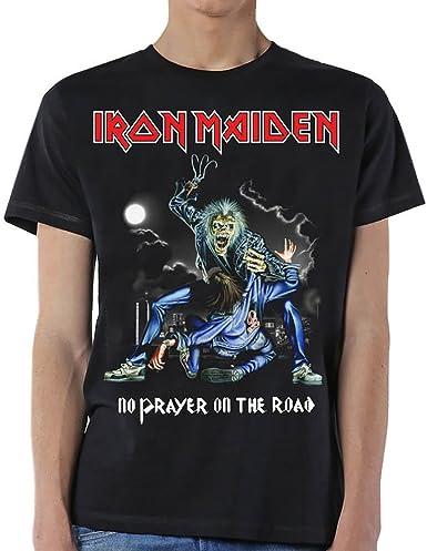 Iron Maiden No Prayer On The Road Oficial Camiseta para ...