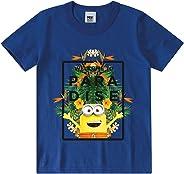 Camiseta Manga Curta, Malwee Kids, Masculina