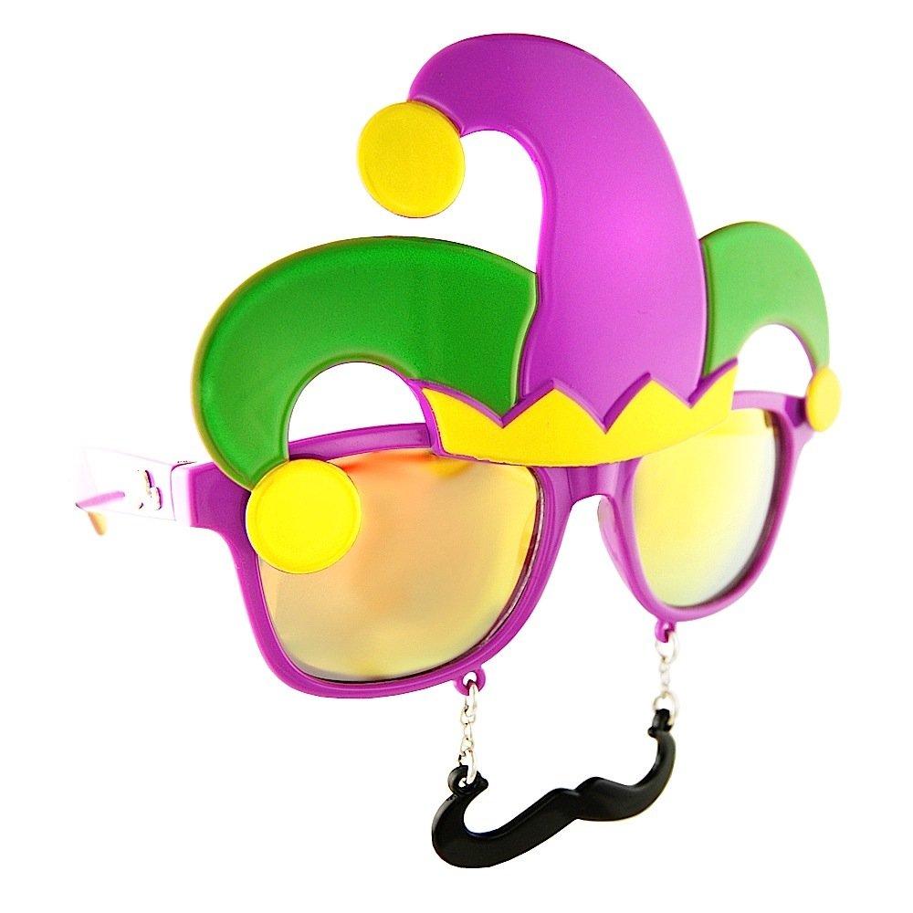 21bd298e9ba5 Buy Sun-Staches American Trucker Costume Sunglasses