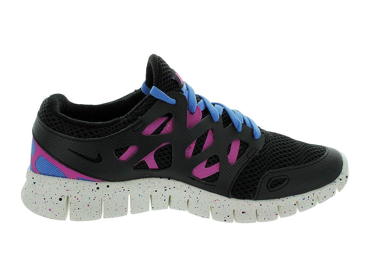 low priced 1bb87 b7791 Nike Laufschuhe Free Run 2 EXT black-clear pink-distinct blue-summit white ( 536746-008) 35,5 schwarz  Amazon.es  Zapatos y complementos