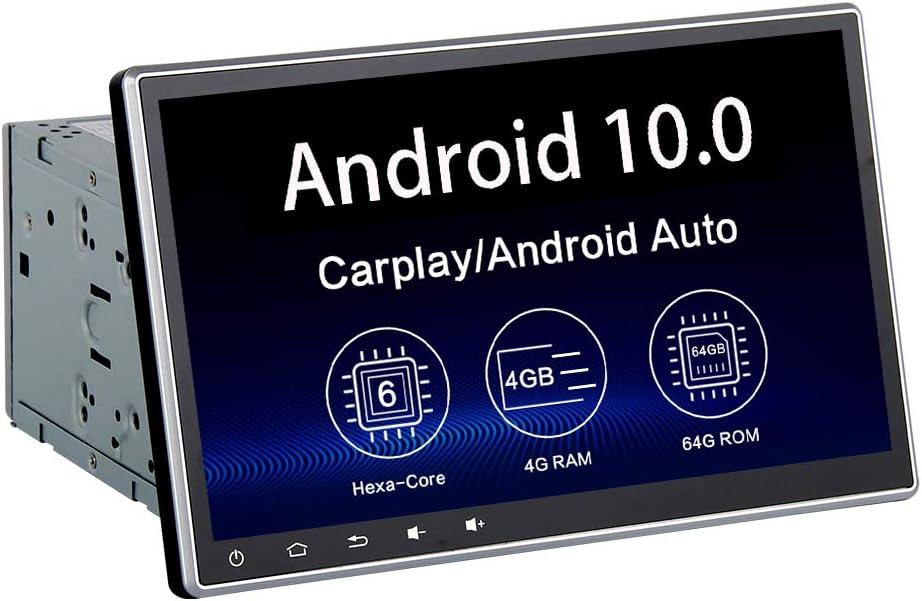 Dasaita 10.2 Android 9.0 Car Stereo for Toyota Corolla 2014 2015 2016 Bluetooth Audio GPS Navigation Head Unit Multimedia Radio Music Video Player Touchscreen Hexa Core 4G 64G PX6 DSP
