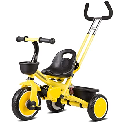Cochecitos de bebé Neonatal Plegable Triciclo al aire libre Bicicleta para bebés Ligero Carro plegable Carruaje