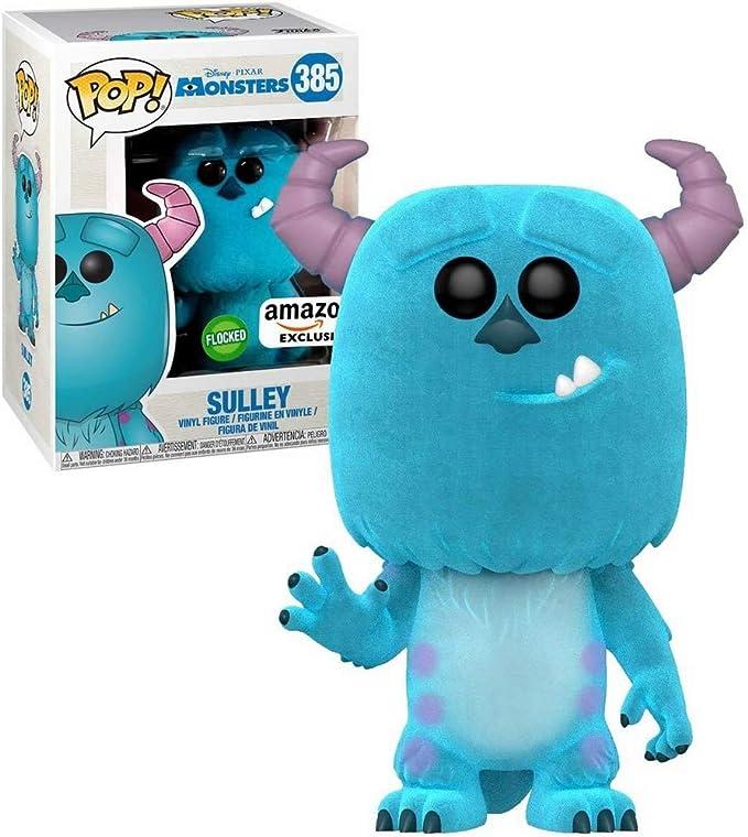 Monsters Inc. - Sulley Flocked Pop! Vinilo: Amazon.es: Juguetes y ...