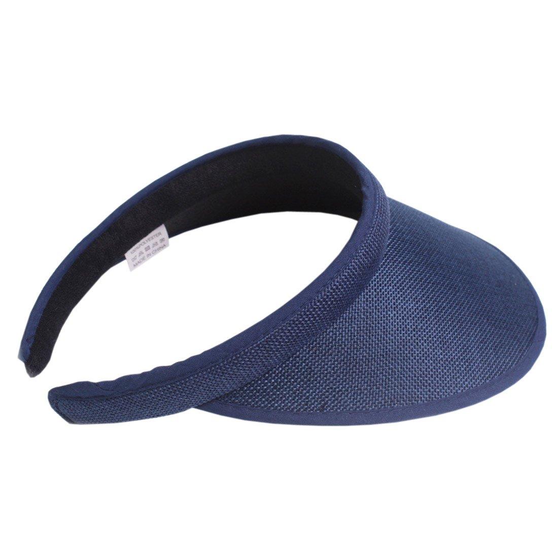 ACVIP Womens Cotton Linen Visor Sun Hat Headband