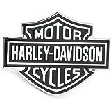 Automaze Harley Davidson Racing Sports Sticker 3D Chrome Badge Logo Sticker For Car & Bike