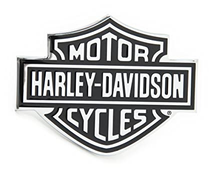 Automaze harley davidson racing sports sticker 3d chrome badge logo sticker for car bike