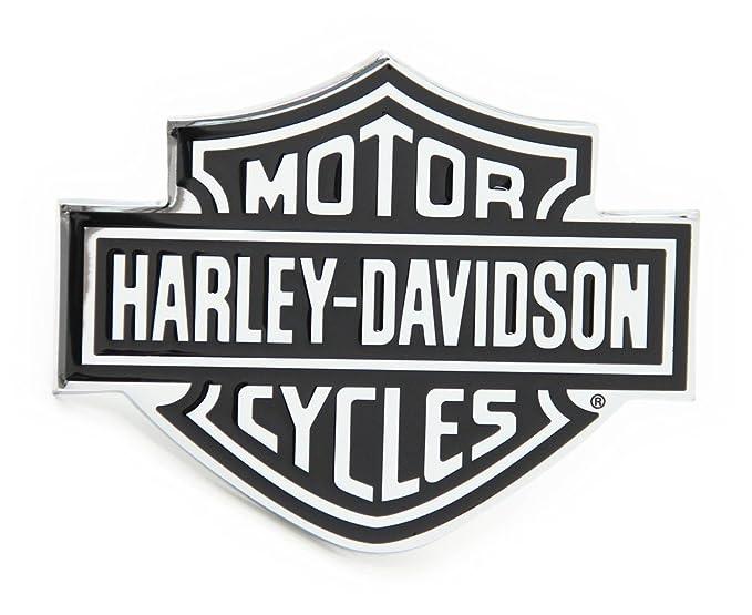 Automaze Harley Davidson Racing Sports Sticker 3d Chrome Badge Logo