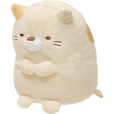 "San-X Sumikko Gurashi Plush, 6"" H, Cat: Toys & Games"
