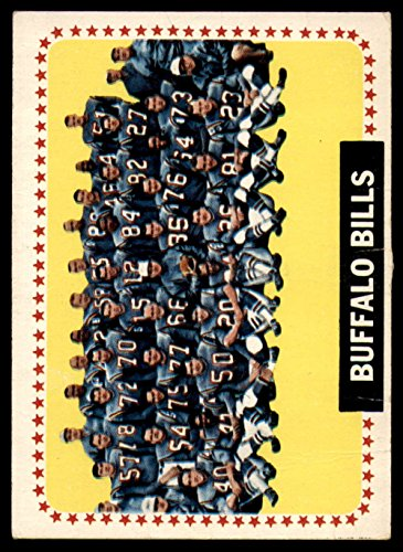 1964 Topps # 43 Buffalo Bills Team Buffalo Bills (Football Card) Dean's Cards 3 - VG (1964 Buffalo Bills)