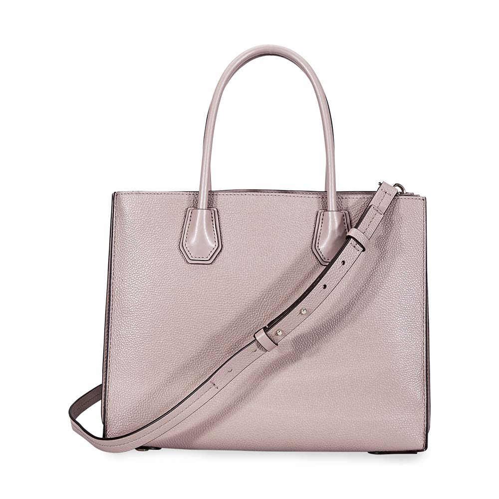 0d2510309410 MICHAEL Michael Kors Mercer Large Pebbled Accordion Tote (Fawn): Handbags:  Amazon.com