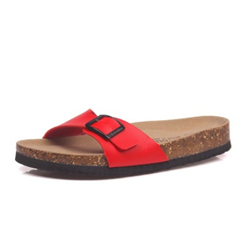 Amazon.com | Sawick 2018 Verano Hombre Suave corcho diapositivas Zapatillas Hombres amantes Casual Sandalias | Slippers