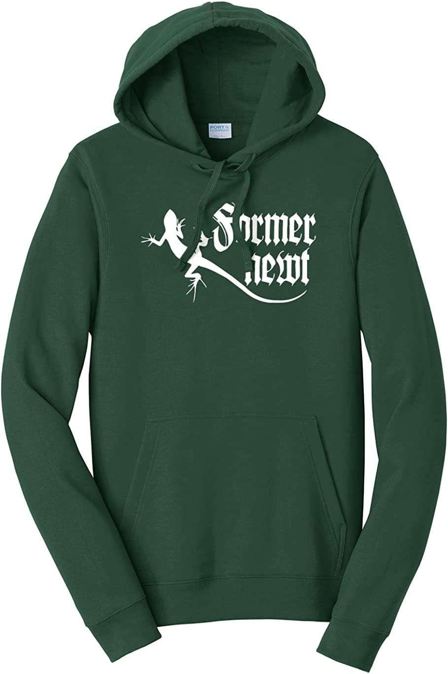 Tenacitee Mens Former Newt Hooded Sweatshirt