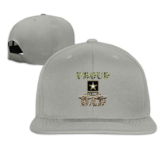 7cab9d80f98 Nordic Runes Proud Army Dad Funny Snapback Hats for Men Fitted Baseball Caps  for Youth