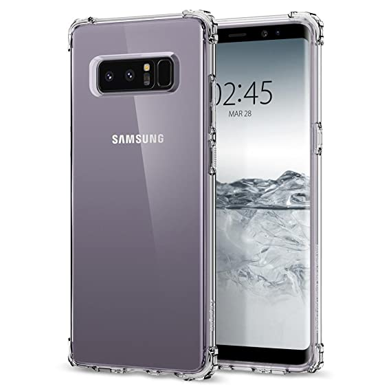 purchase cheap e58aa 1c141 SPIGEN Samsung Galaxy Note 8 Shell Case - Clear Crystal