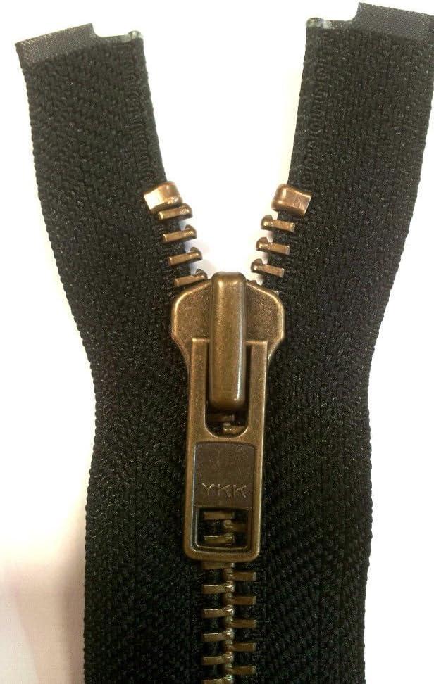 Reißverschluss Kunststoff Grob 8mm 70cm lang Teilbar 5,20 EUR//Stück