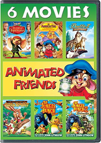 (Animated Friends 6-Movie Collection)