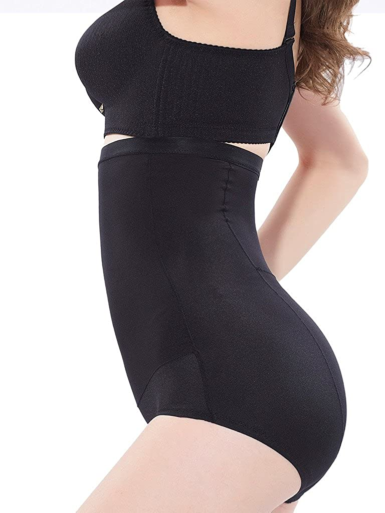 DODOING Women's Butt Lifter Tummy Control Shapewear Hi-Waist Brief Firm Control Boyshort 8802001