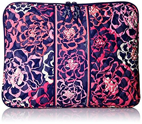 Vera Bradley Laptop Sleeve, Katalina Pink, One Size