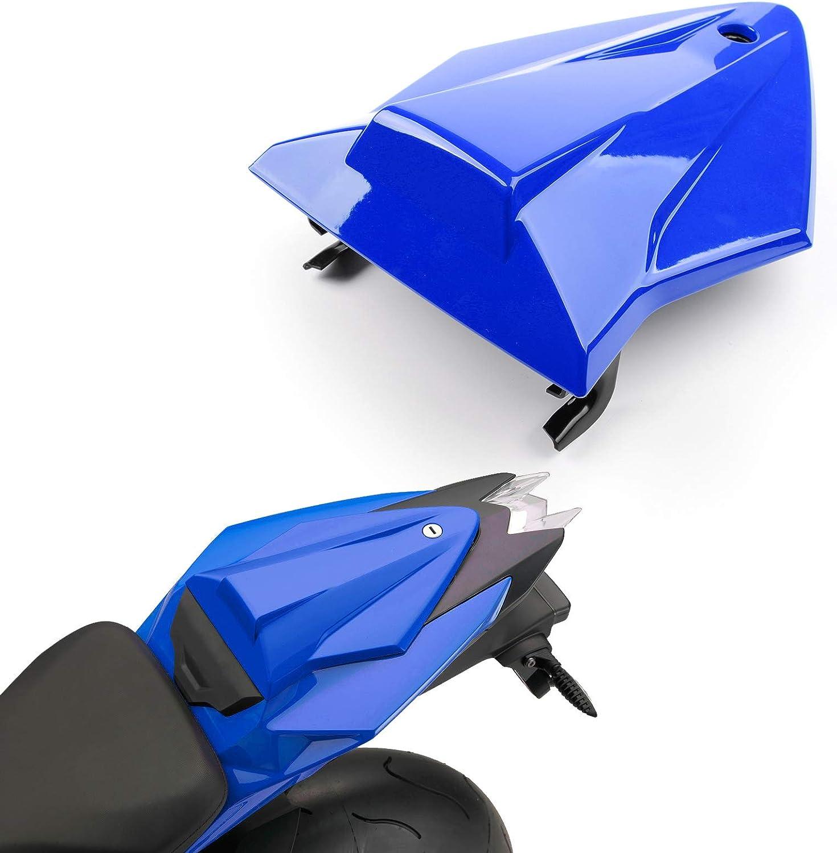Mad Hornets ABS Soziusabdeckung Sitzbezug Sozius F/ür B-M-W S1000RR K46 2015-2018 Blau