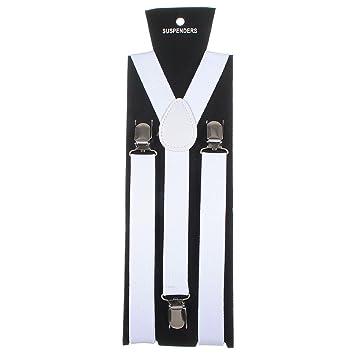 vendite calde ottenere a buon mercato il più grande sconto Homeking - Bretelle elastiche a Y con attacco a molletta, da adulto,  unisex, regolabili, colori fluo