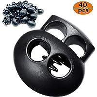 CKANDAY 40 unidades de cierres de cordón