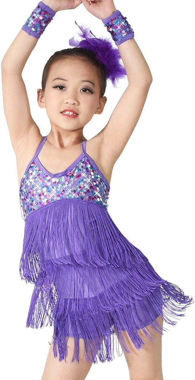 Amazon.com: midee vestido disfraz de danza 3 colores playera ...