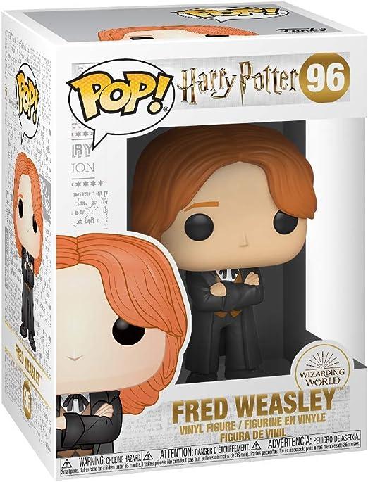 Funko - Pop! Harry Potter: Fred Weasley (Yule) Figura De Vinil , Multicolor (42842)