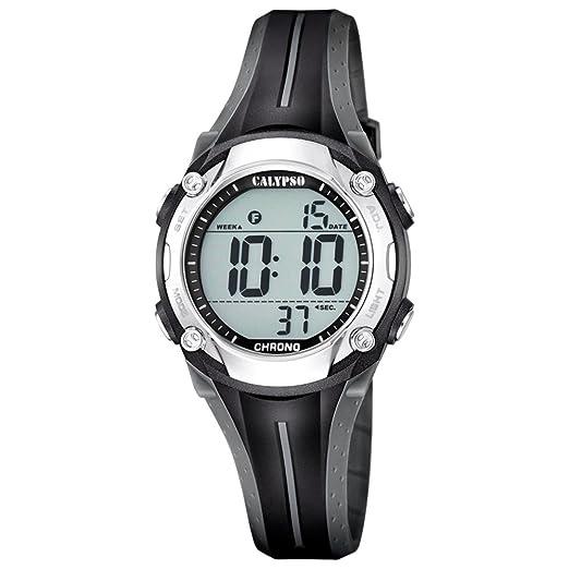 Calypso Reloj de pulsera para mujer cuarzo reloj reloj de plástico con Poliuretano banda de alarma Cronógrafo digital todos los modelos k5682, variante: 03: ...