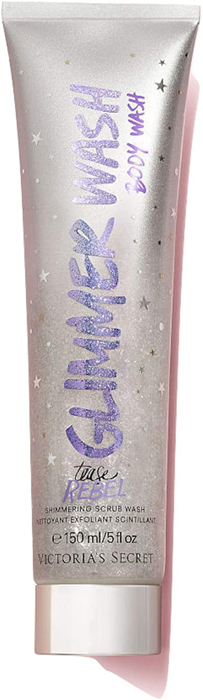 Victoria's Secret Tease Rebel Glimmer Wash, Tease Rebel, 150 ml/5 fl oz Silver