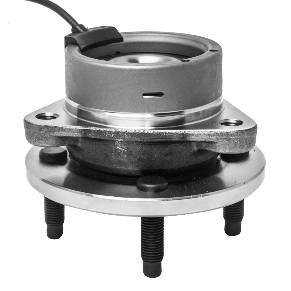 Front Wheel Hub and Bearing Assembly Left or Right Compatible Chevrolet Cobalt Pontiac G5 Pursuit Saturn Ion AUQDD 513204 x2 4 Lug 4-Wheel ABS
