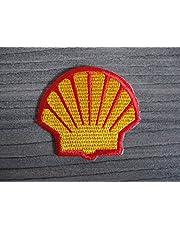 Aufnäher Patch geborduurd strijkplaat Aufbügler Shell Motorcross Racing Auto-Turning Motorsport Race MC